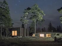 Feriensiedlung in Schweden: Schöner bunkern