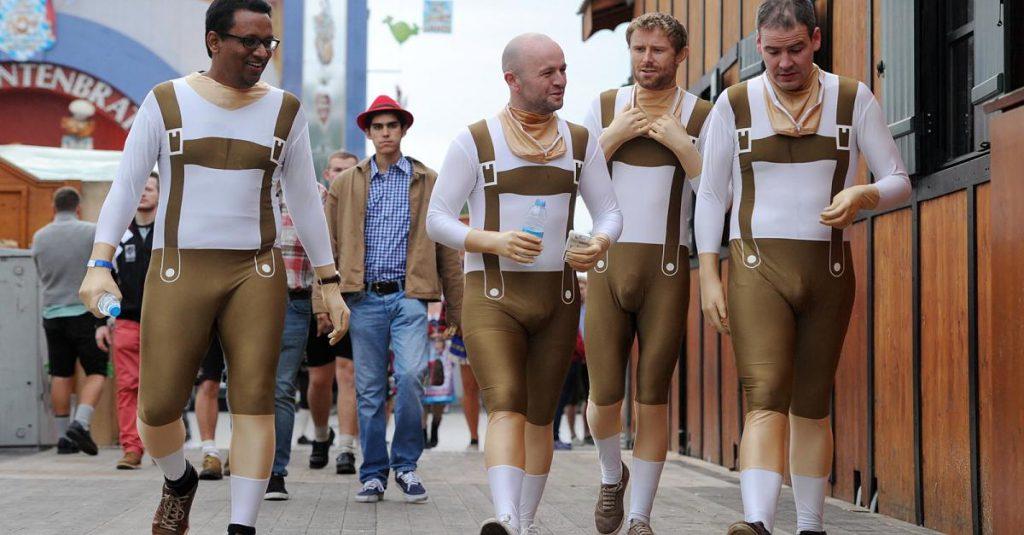 Lederhosen auf dem Oktoberfest - Die acht Todsünden - So macht sich jeder Mann auf der Wiesn zum Deppen