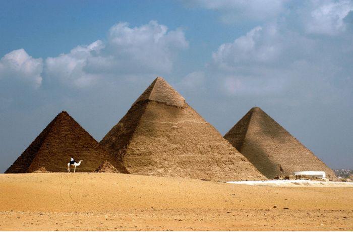 Neue Theorie zum Pyramidenbau: Das Geheimnis der Cheops-Pyramide