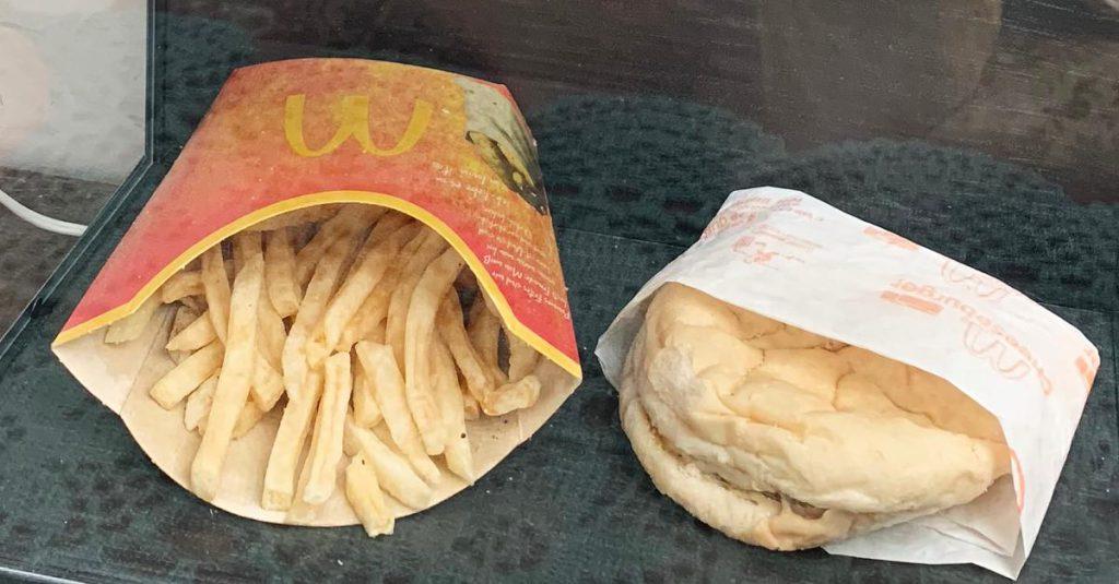 Konservierungsmitteln sei Dank - Von Schimmel keine Spur: Dieser McDonald's-Burger ist zehn Jahre alt