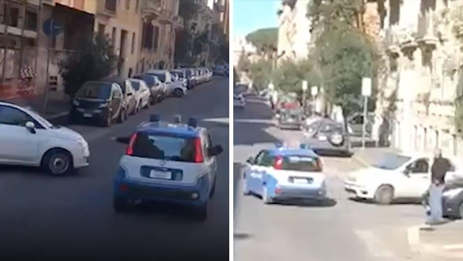 Irisches Rugby-Team: Zick-Zack und Beinahe-Unfälle: Polizei-Eskorte in Rom sorgt für Chaos und Lacher