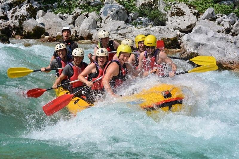 Soča Rafting ist wirklich etwas Besonderes worüber