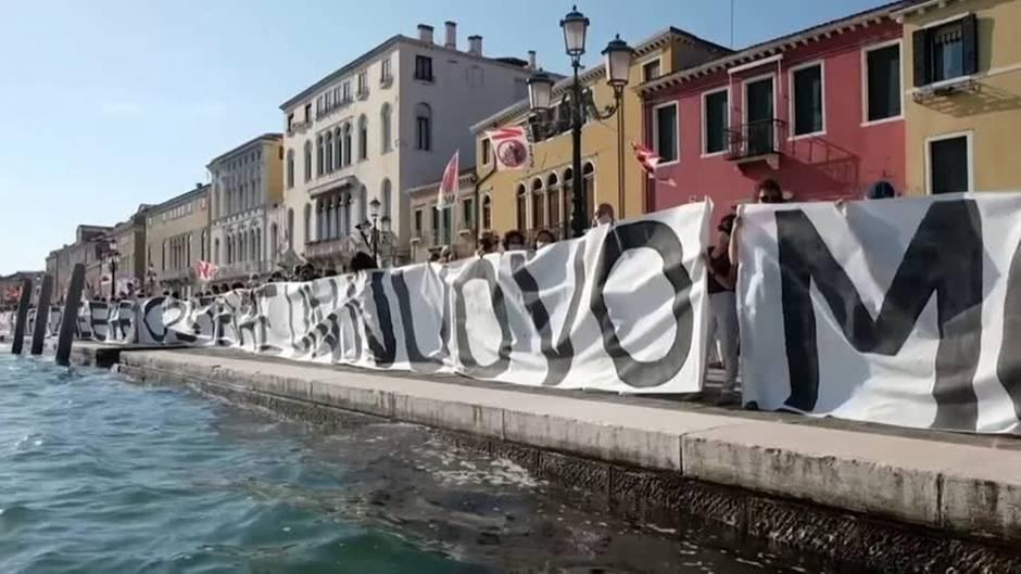 """Italien: Venedig will Passagiere auf Gondeln reduzieren – weil sie """"zu schwer"""" geworden sind"""