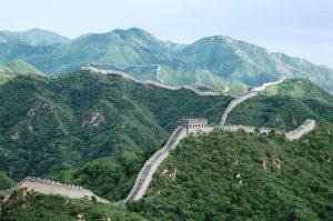 Die Chinesische Mauer ist auch die größte antike Architektur