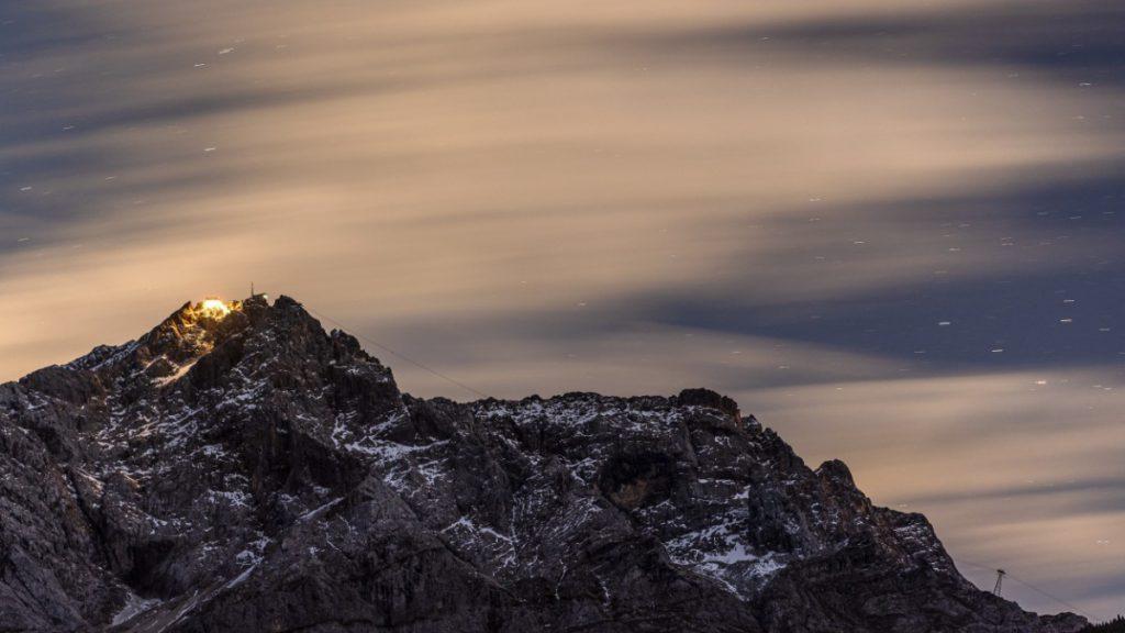 Zugspitze: Himmel und Hölle