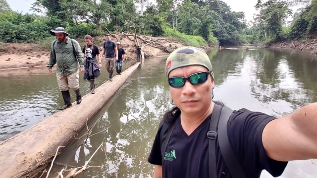 Delfin Gualina, Wildlife Guide, Ecuador, Yasuni Nationalpark;
