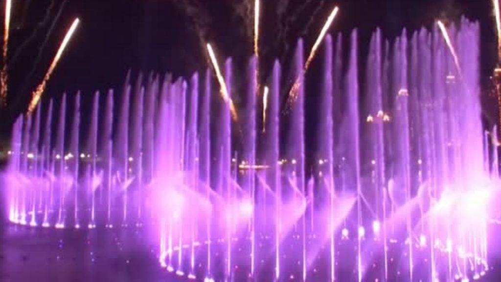 Stolze 128 Fontänen: Dubai hat jetzt den größten Springbrunnen der Welt – so sieht er in Aktion aus