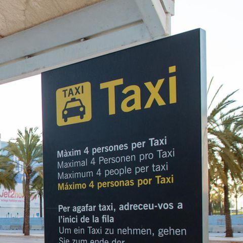 Regeländerung: Sprachtest und Uniform obligatorisch: Ein Teil der Taxifahrer auf Mallorca muss Deutsch lernen