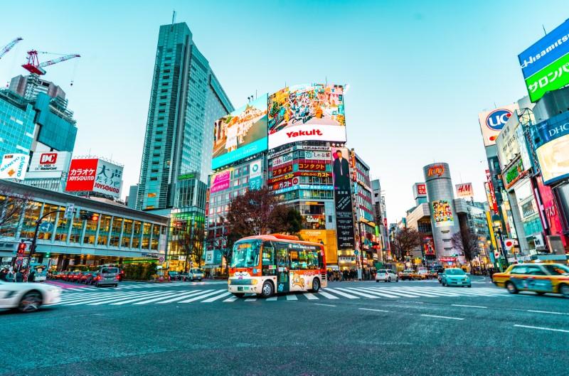 Tokio ist die Hauptstadt Japans